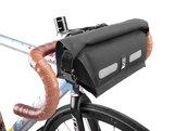 Chrome Knurled Welded™ Handlebar Bag